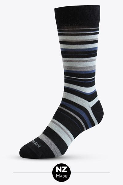 Mens Merino Allstripes