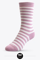 Womens Merino Full Cushion Stripe